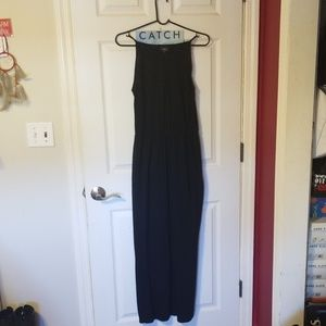 Long Black Lightweight dress